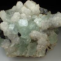 Fluorite & Quartz & Sphalerite