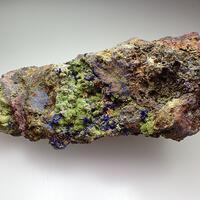 Chenevixite Psm Olivenite & Azurite