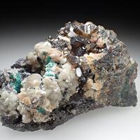 Cerussite Smithsonite & Malachite