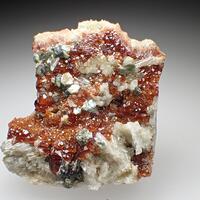 Hessonite Clinochlore & Diopside