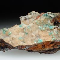 Cuprian Adamite & Smithsonite