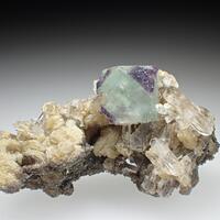 Fluorite Quartz & Muscovite