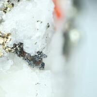Hatchite Realgar & Pyrite