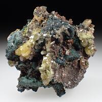 Tsumcorite Brochantite & Mimetite