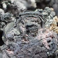 Native Bismuth Nickelskutterudite & Erythrite