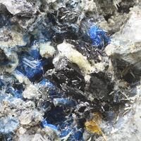 Haüyne Titanite & Aragonite