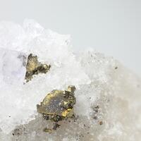 Chalcopyrite & Fluorite