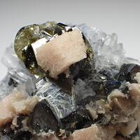 Tetrahedrite & Sphalerite & Dolomite
