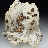 Baryte Chalcopyrite & Dolomite