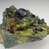 Epidote Magnetite & Diopside
