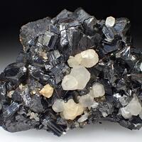 Sphalerite Calcite & Pyrite
