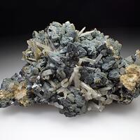 Sphalerite Quartz & Plumosite