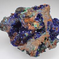 Azurite Malachite & Adamite