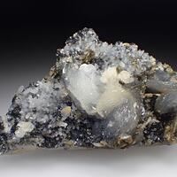 Calcite Quartz & Sphalerite