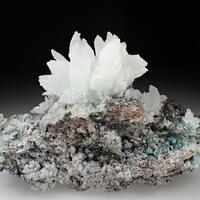Calcite & Alumino Adamite