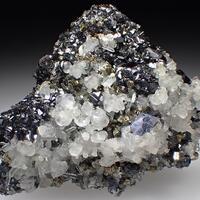 Sphalerite Galena & Calcite