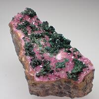 Cobaltoan Calcite & Malachite