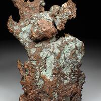 Native Silver & Native Copper Halfbreed
