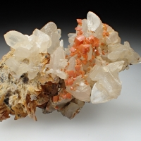 Cerussite & Wulfenite & Baryte