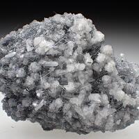 Stibnite Calcite & Quartz