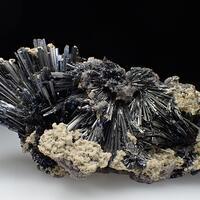 Stibnite Dolomite & Calcite