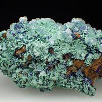 Malachite & Azurite & Calcite