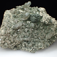 Quartz Adularia & Chlorite