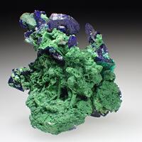 Bayldonite Psm Mimetite & Azurite