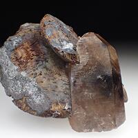 Goethite Psm Siderite & Quartz