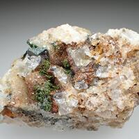 Olivenite & Bariopharmacosiderite