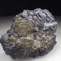 Marcasite Psm Pyrrhotite With Galena & Sphalerite