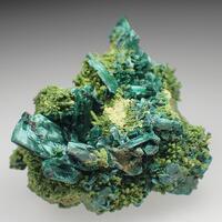 Malachite Psm Azurite & Duftite