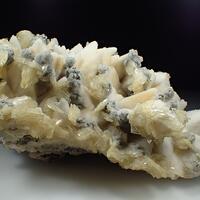 Baryte Calcite Quartz & Pyrite