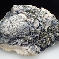 Pyrrhotite & Arsenopyrite & Calcite & Boulangerite