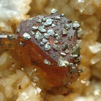 Chalcopyrite & Sphalerite & Dolomite