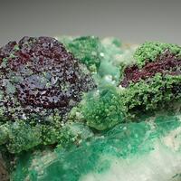 Cuprite & Conichalcite & Calcite & Malachite