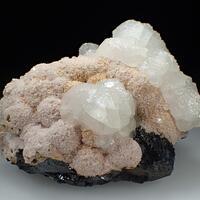 Calcite & Rhodochrosite & Sphalerite