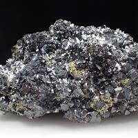 Sphalerite & Chalcopyrite & Quartz & Calcite & Boulangerite
