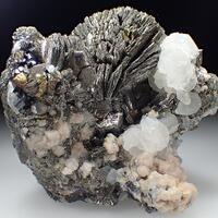 Pyrite Psm Psm Pyrrhotite & Calcite