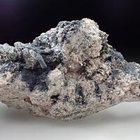 Rhodochrosite Boulangerite & Pyrrhotite