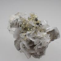 Gold & Calcite & Pyrite