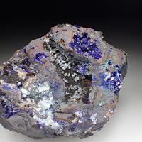 Azurite & Aragonite