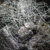 Jamesonite Pyrite & Quartz