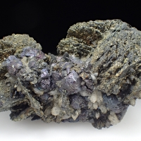 Chalcopyrite Covellite & Pyrrhotite