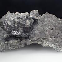 Sphalerite & Calcite & Boulangerite
