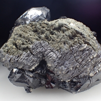 Galena Psm Pyrrhotite & Sphalerite & Marcasite