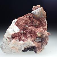 Wulfenite & Calcite