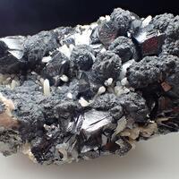 Calcite Boulangerite Sphalerite & Quartz