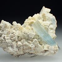 Aquamarine & Orthoclase