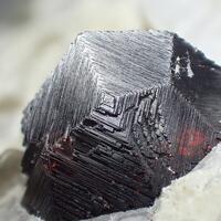 Garnet Var Almandine & Muscovite & Feldspar